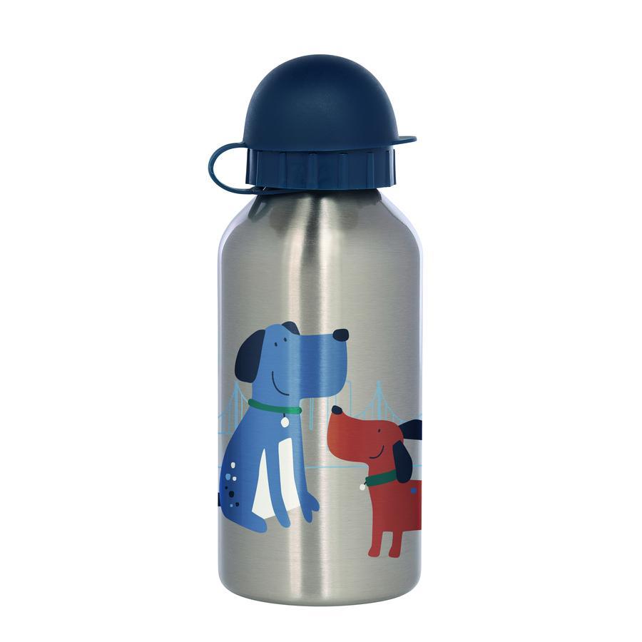 sigikid ® Rustfritt stål drikkeflaskehund Grønn