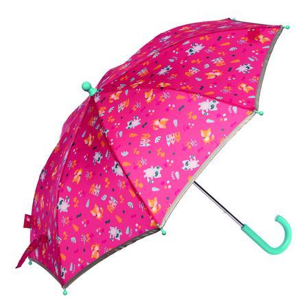 sigikid® Regenschirm Waschbär COLORI