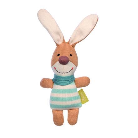 sigikid ® Pletený uchopovací králík Green