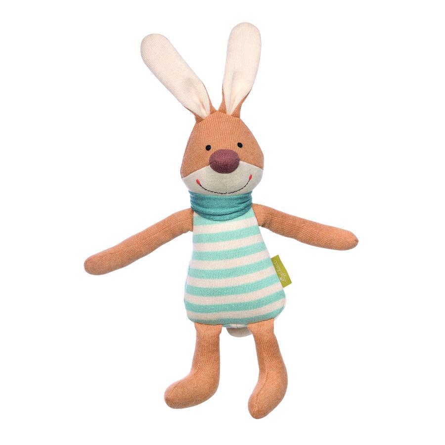 sigikid ® stickning lekfigur kanin grön