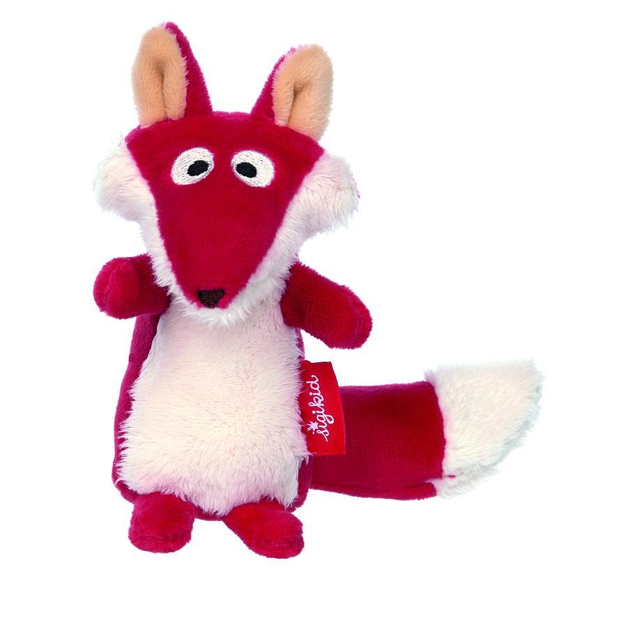 sigikid ® Rattle Fox - røde stjerner