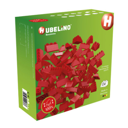 HUBELINO® Klocki - 124 elementy