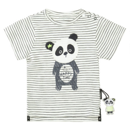 STACCATO T-shirt anthra striped