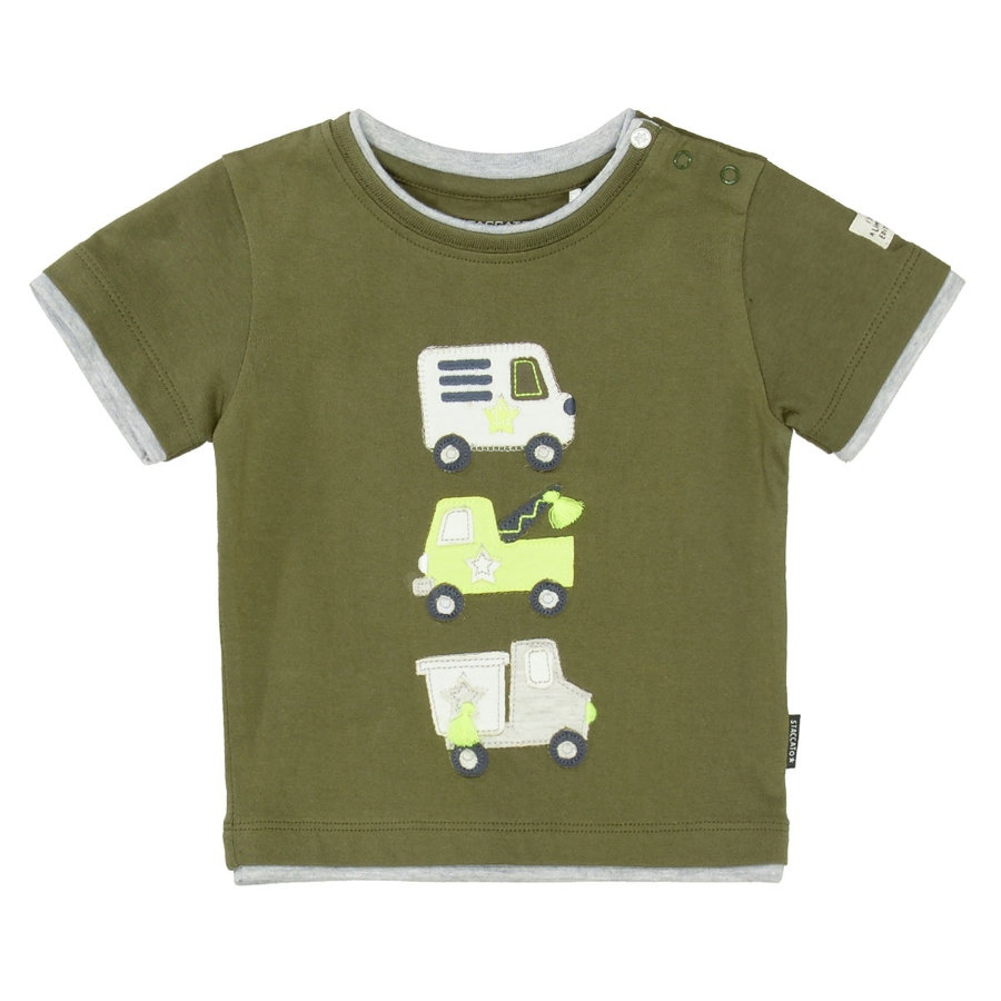 STACCATO T-shirt blød oliven