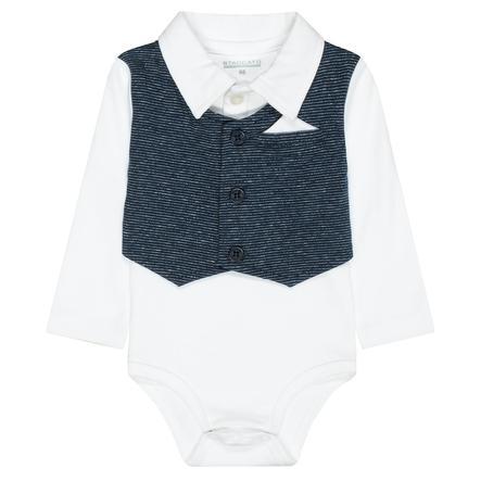 STACCATO Babykropp med vest hvit