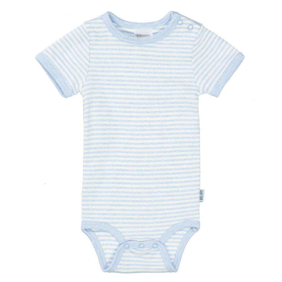 STACCATO Body 1/2 aqua melange striped