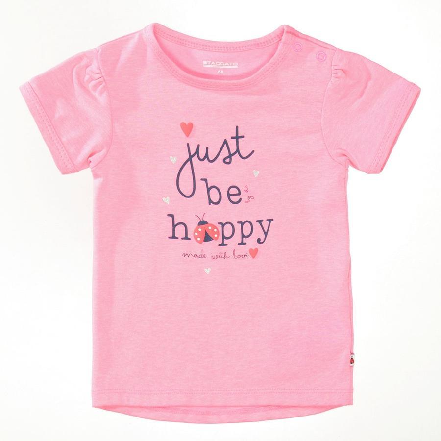 STACCATO  T-Shirt miękki różowy