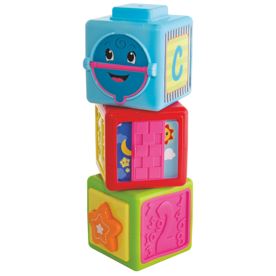 Simba ABC Kostki do budowania wieży