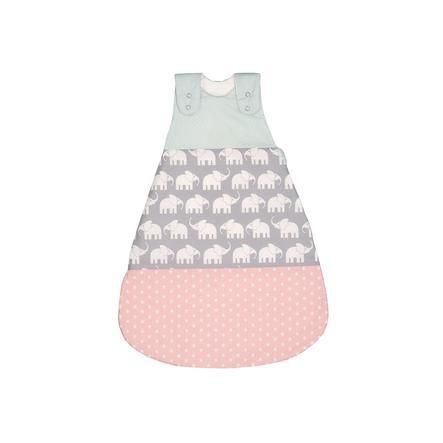 ULLENBOOM® Schlafsack Elefant Mint Rosa