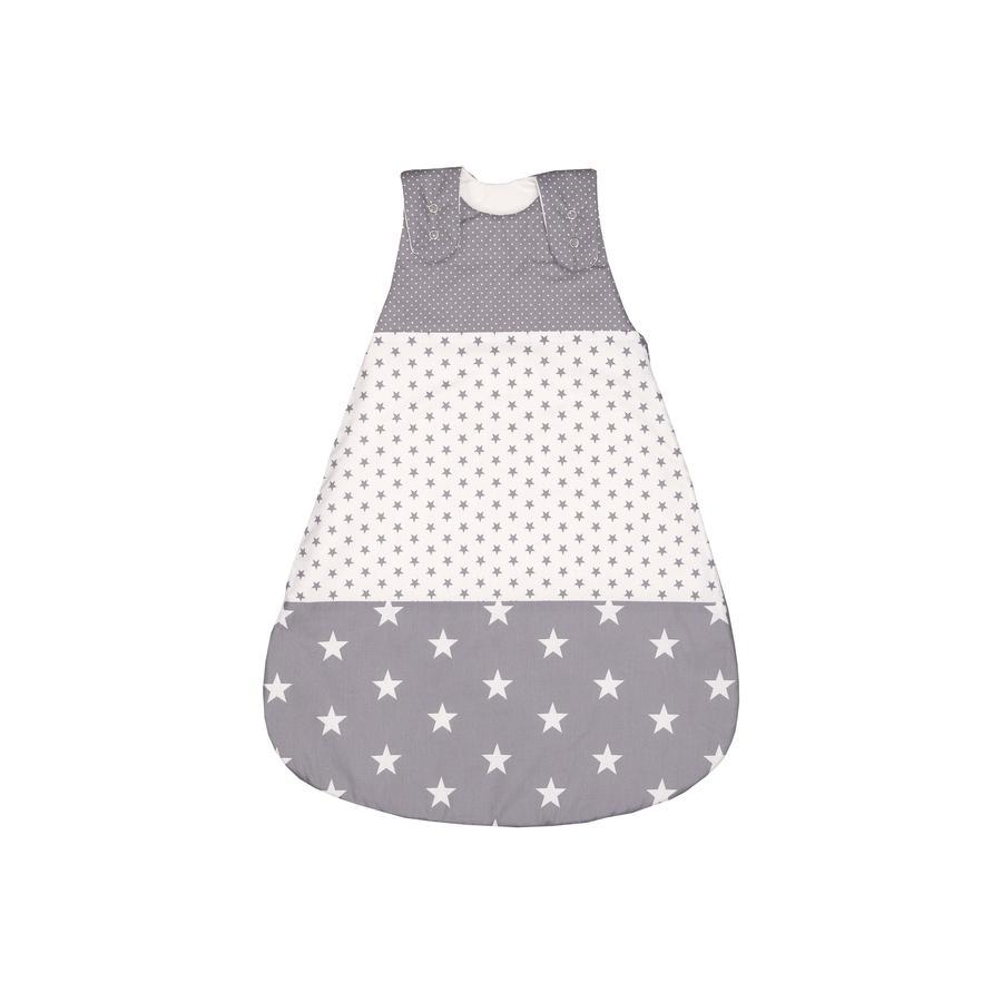 ULLENBOOM® Gigoteuse bébé évolutive étoiles grises