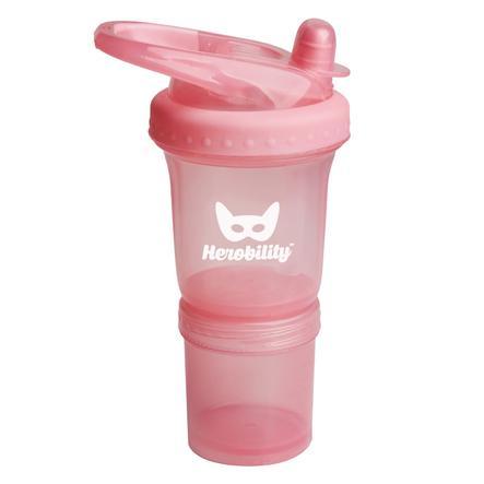 Herobility drikkeflaske Sportflaske lyserød