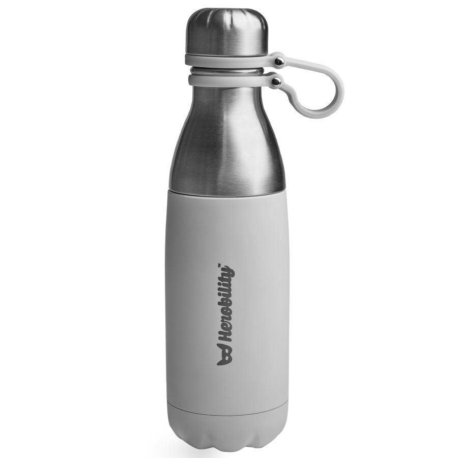 Herobility Thermosflasche To Go Bottle grau 500 ml
