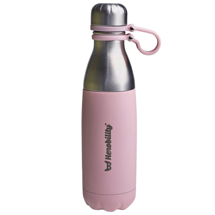 Herobility Thermos fiaschetta To Go Bottle rosa