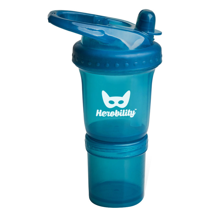 Herobility Trinkflasche Sport blau