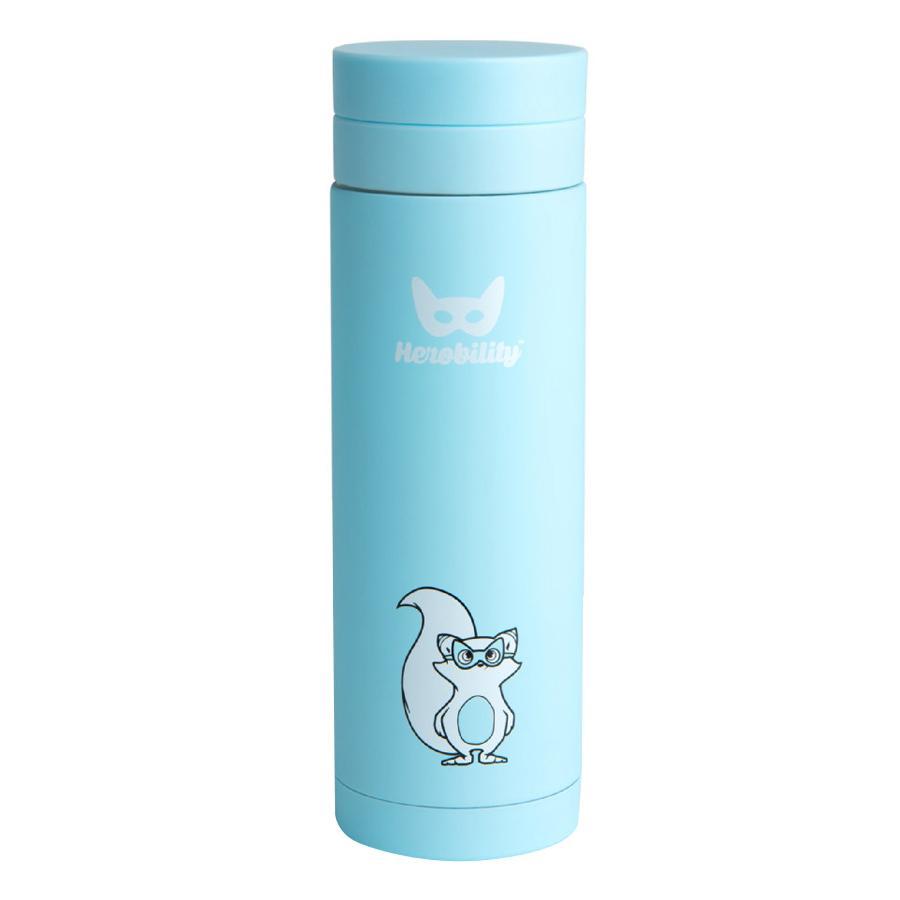 Herobility Termosflaske Isolert flaske blå 300 ml