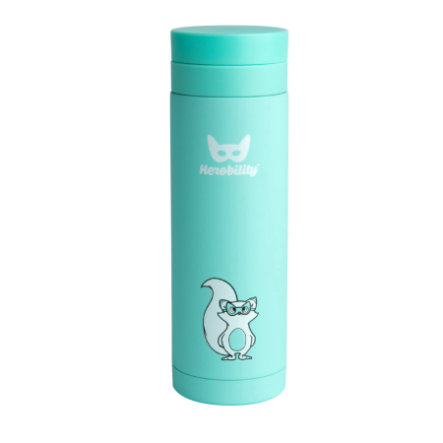 Herobility Thermos enfant HeroTermos turquoise 300 ml