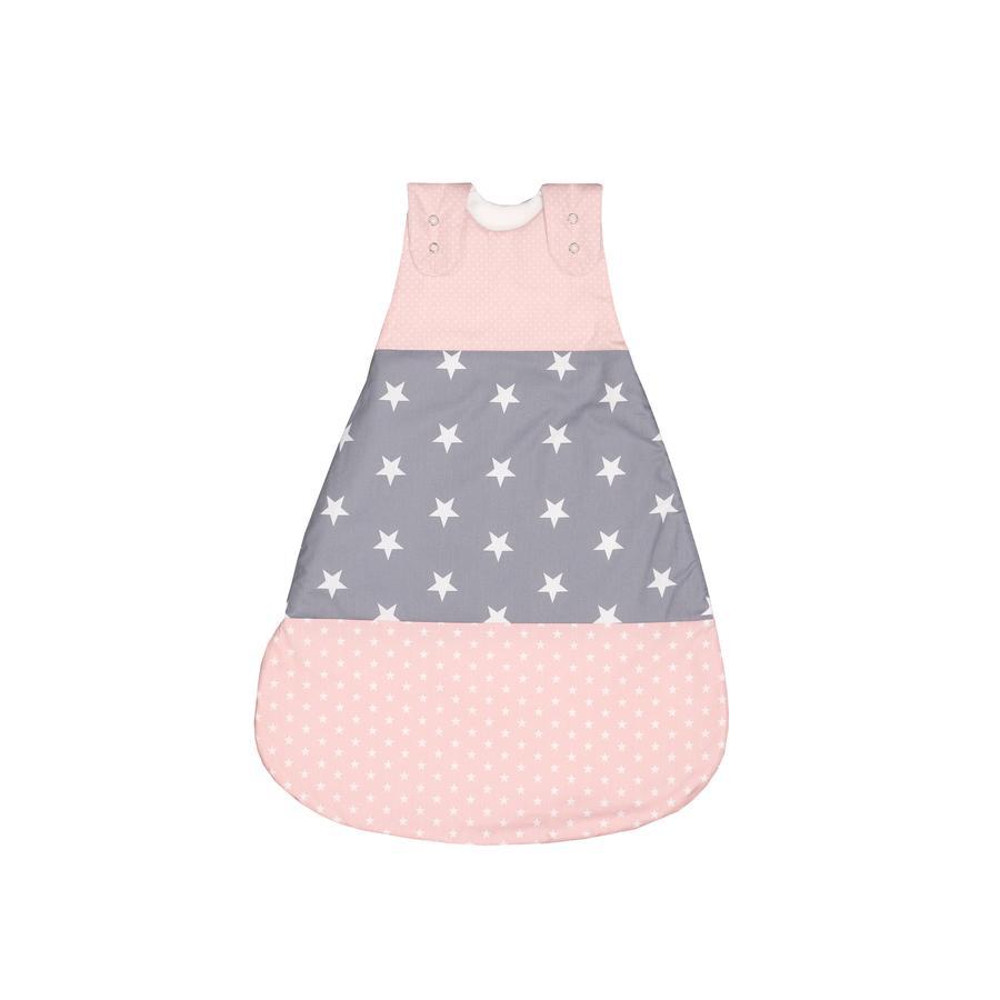 ULLENBOOM ® sovepose lyserød grå