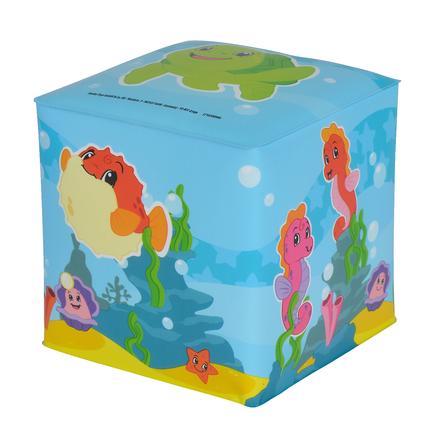 Simba Jouet de bain cube ABC