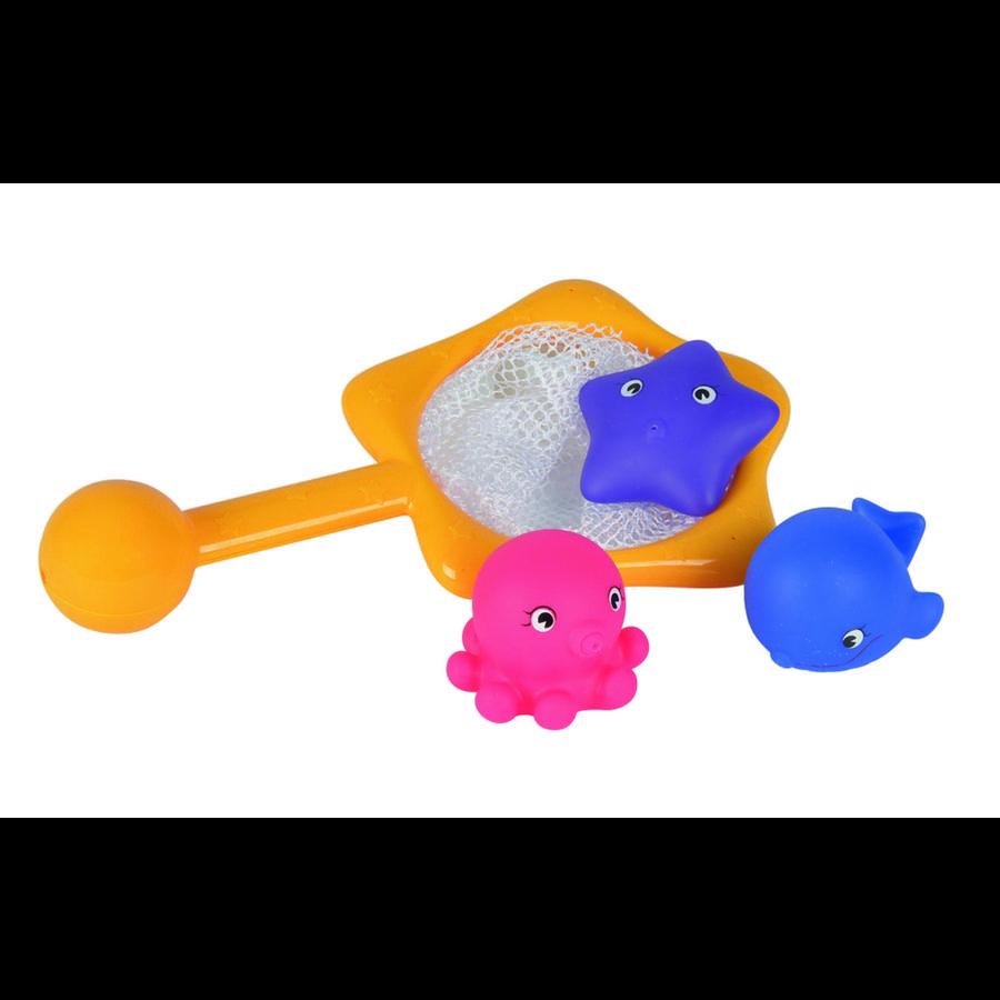 Simba ABC animales de baño con red