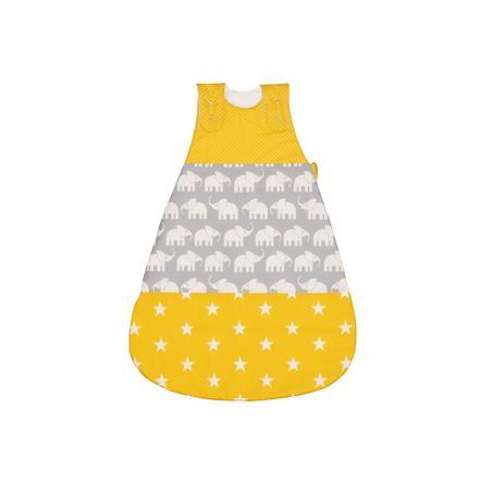 ULLENBOOM ® śpiwór słoniowy żółty