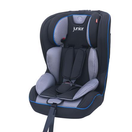 petex Kindersitz Premium Plus Grau gepunktet