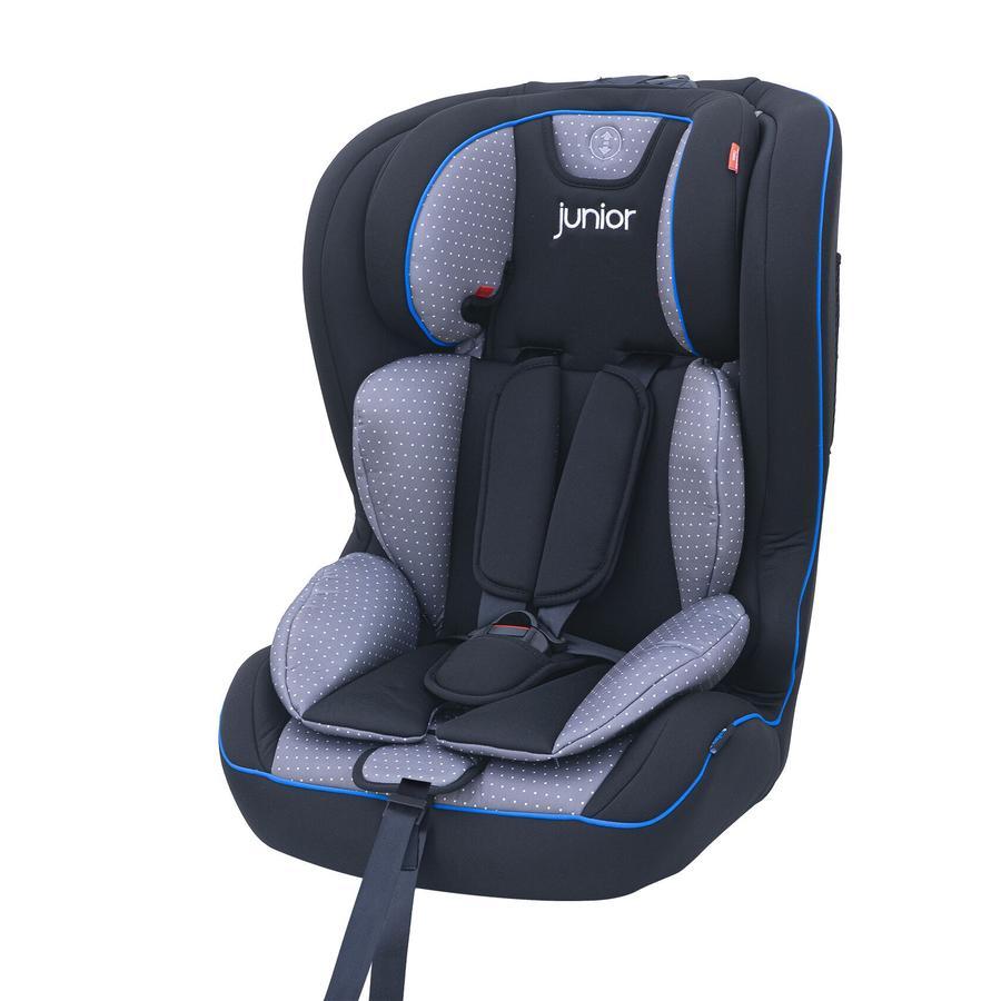 petex Bilstol Premium Plus Grå prikkete