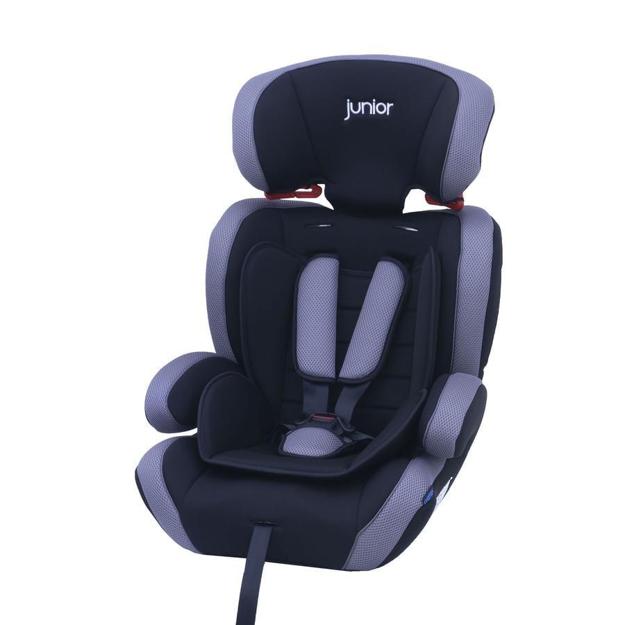 petex Siège auto Comfort gr.1/2/3 gris