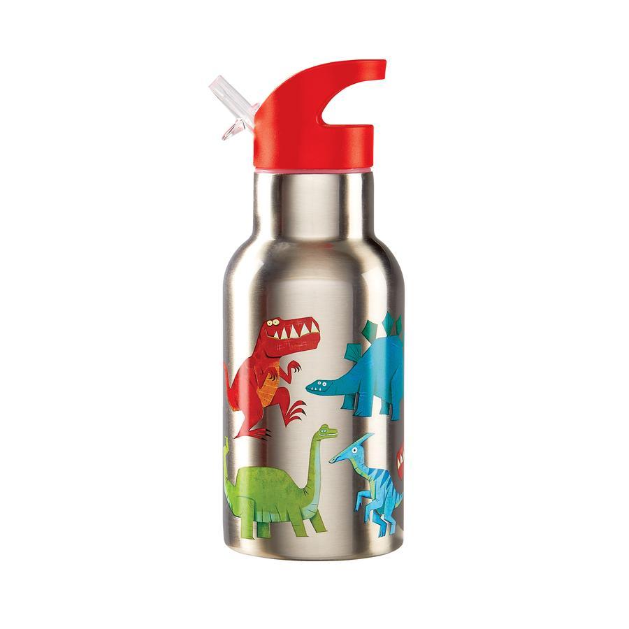 Crocodile Creek ® botella de acero inoxidable para beber - dinosaurio
