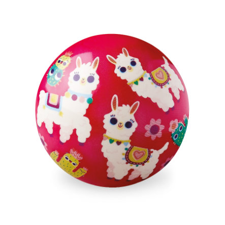 Crocodile Creek® Spielball 10 cm - Alpaka Liebe
