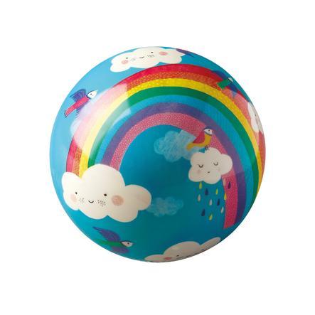 Crocodile Creek ® Hrací míč 10 cm - duhový