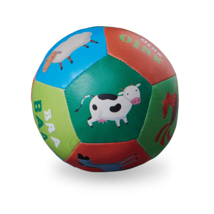 Crocodile Creek ® Babyens første ball 13 cm - Gård