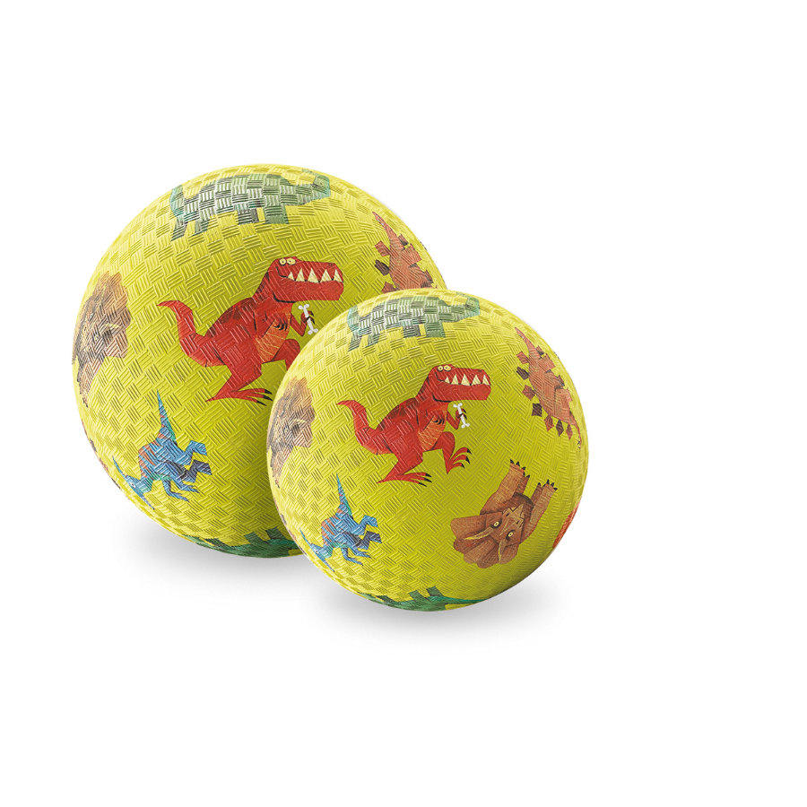 Crocodile Creek balle de jeu ® 18 cm - dinosaure
