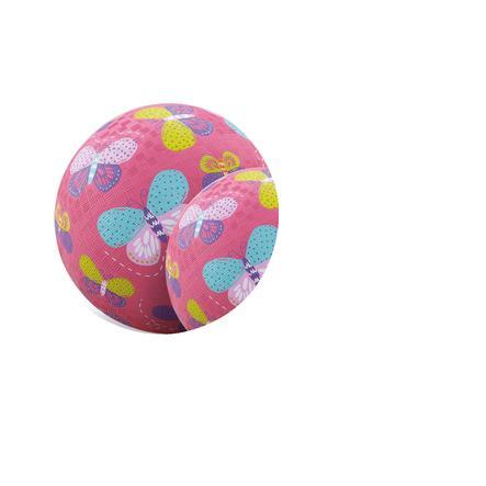 Crocodile Creek ® play ball 13 cm - Růžové motýly