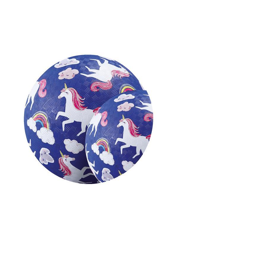 Crocodile Creek ® giocare palla 13 cm - unicorno