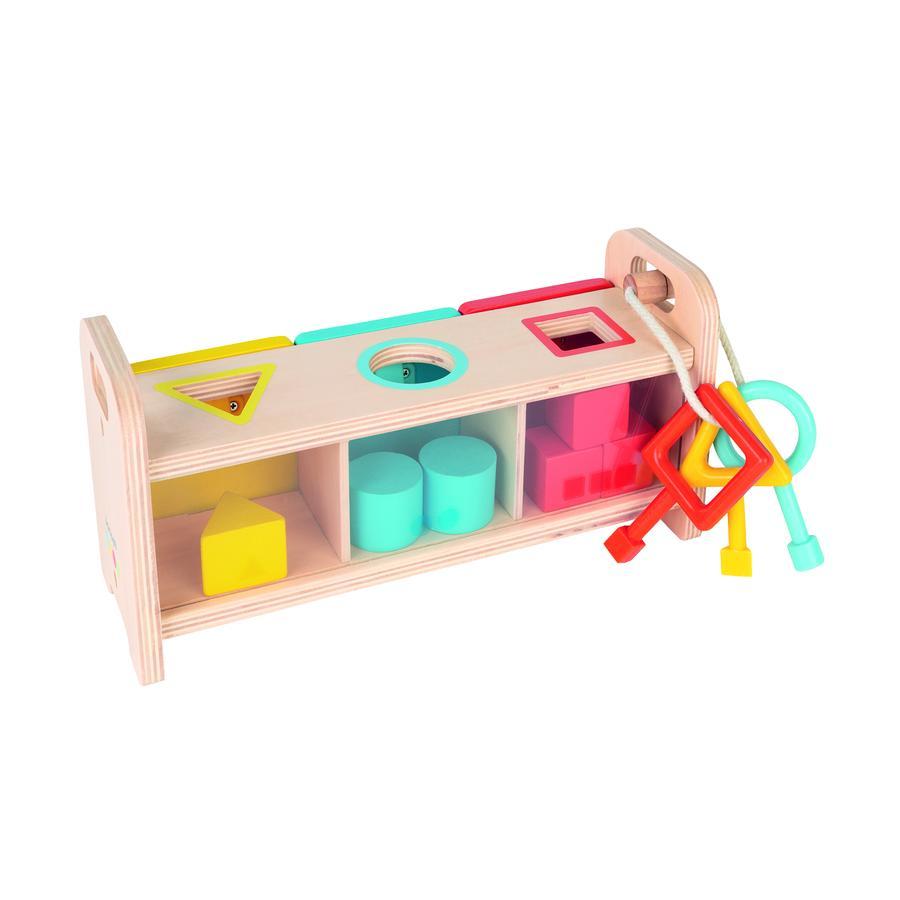 Janod® Essentiel Sortierspiel mit Schlüsseln