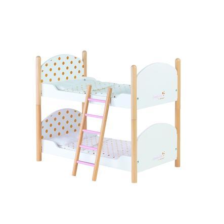 Janod ® Patrová postel pro panenky, Candy Chic