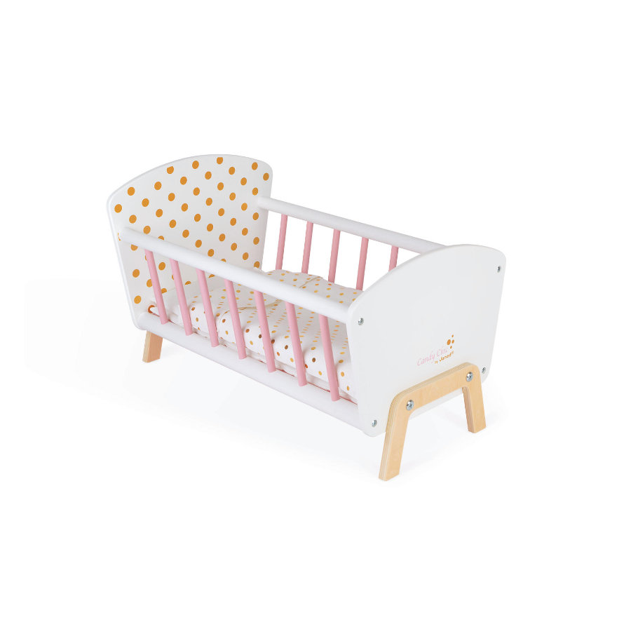 Janod ® Poppenbed, Candy-Chic