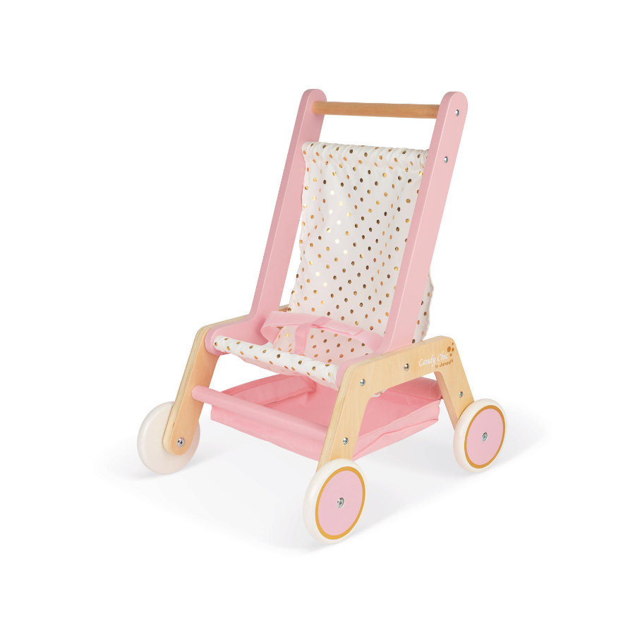 Janod ® Wózek dla lalek, Candy-Chic