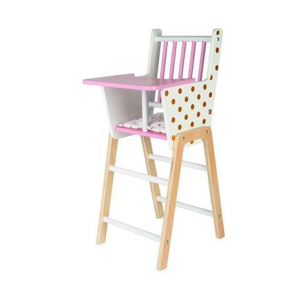 Janod ® Krzesełko do karmienia lalek Candy-Chic
