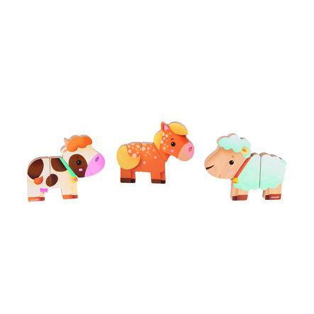 Janod magnetické figurky hospodářských zvířat