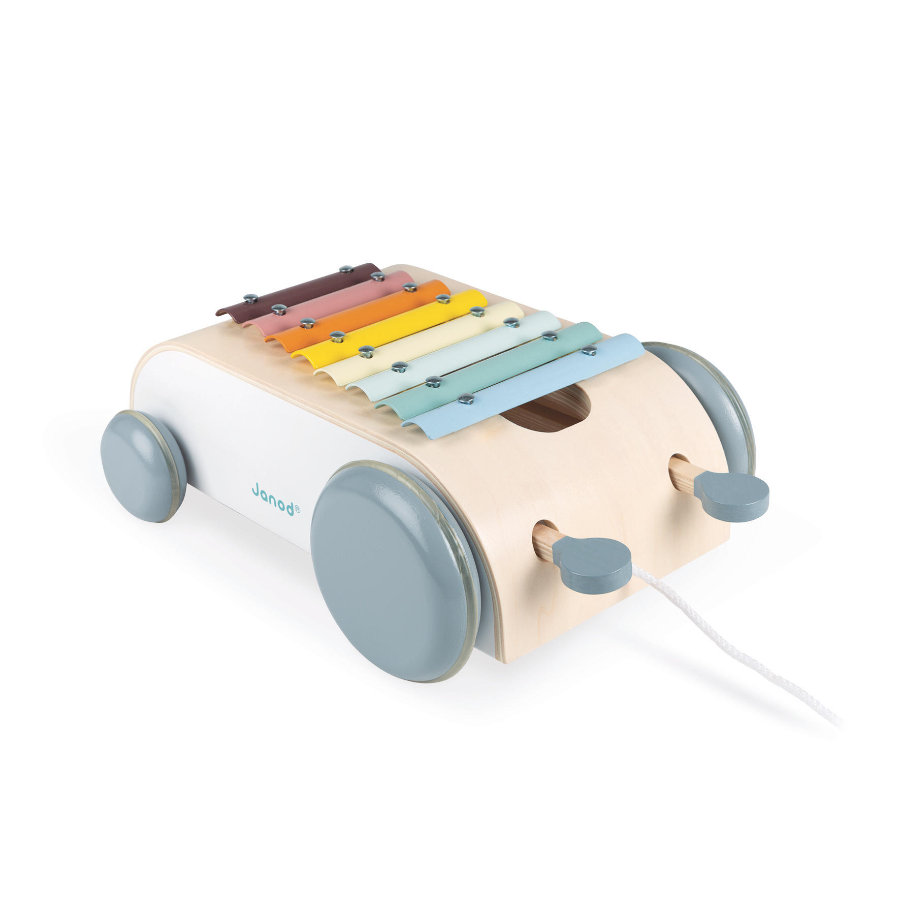 Janod® Sweet Cocoon Xylophon-Wagen zum Ziehen