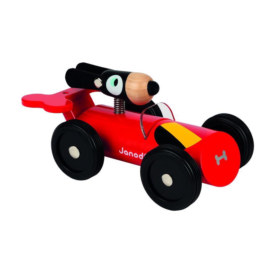 Závodní vůz Janod ® Spirit Dan červený