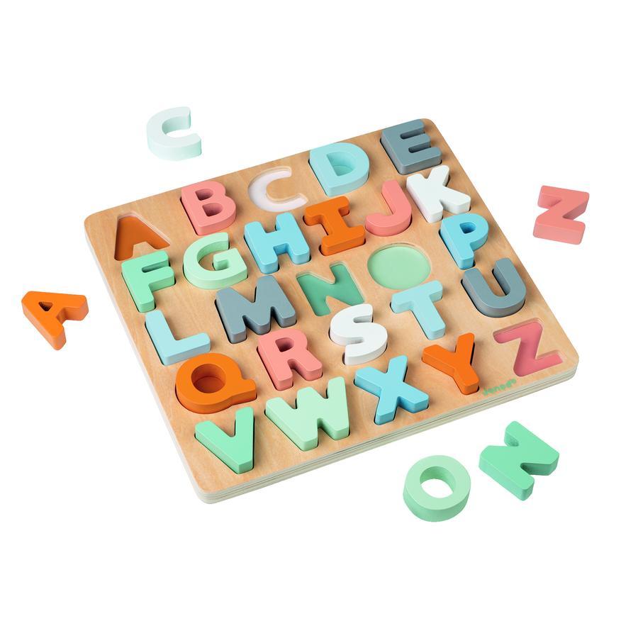 Janod® Sweet Cocoon Holzpuzzle-Alphabet