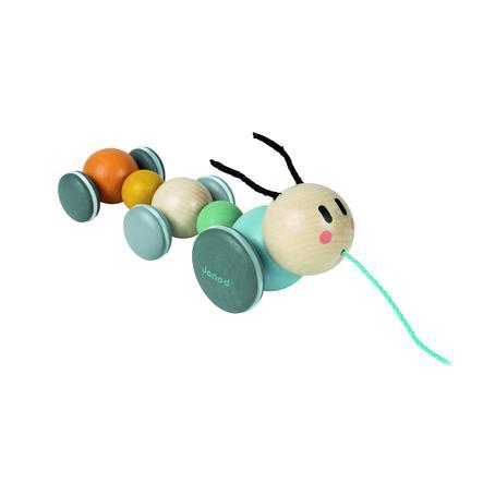 Janod ® Słodka Cocoon gąsienica zwierzęca wleczona ruchoma