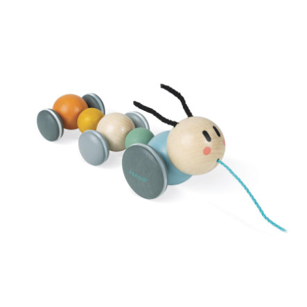 Janod ® Sweet Cocoon bageste dyre larve kan bevæges