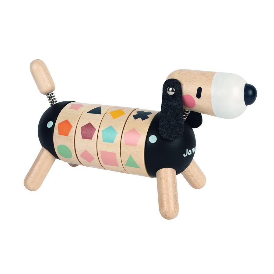Janod® Sweet Cocoon Formen- und Farben-Hund