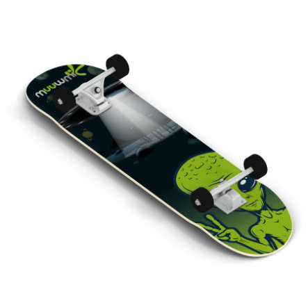 AUTHENTIC SPORTS Skate board muuwmi ABEC 5, Alien