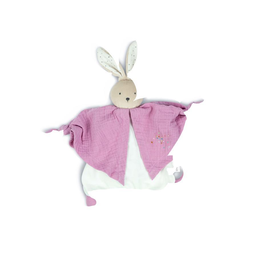 Kaloo ® Petit s Pas - mazlivá látka králík růžová