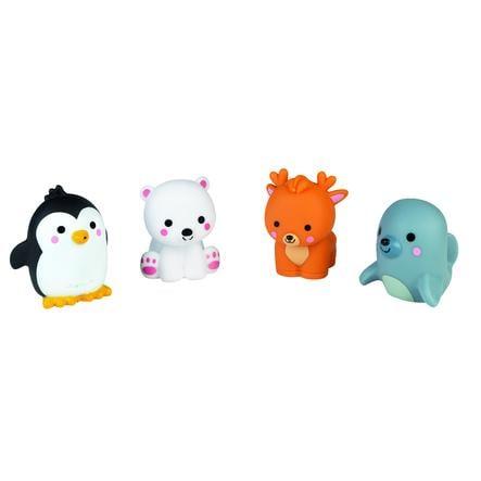 Janod koupelové hračky  - arctic 4 kusy