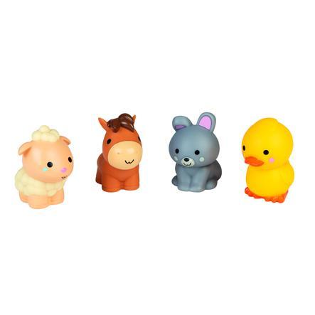 Janod ® Bagno schizzi d'acqua giocattolo - fattoria 4 pezzi